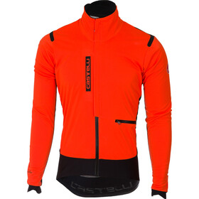 Castelli Alpha Ros Jacket Herr orange/black